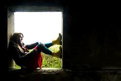 Window #1 (evilibby) Tags: cold window girl scarf human libby backlit 365 2009 docs drmartens docmartens dms coalhousefort 365days explored 3652 yellowdms yellowdocs yellowdrmartens welcomeuk