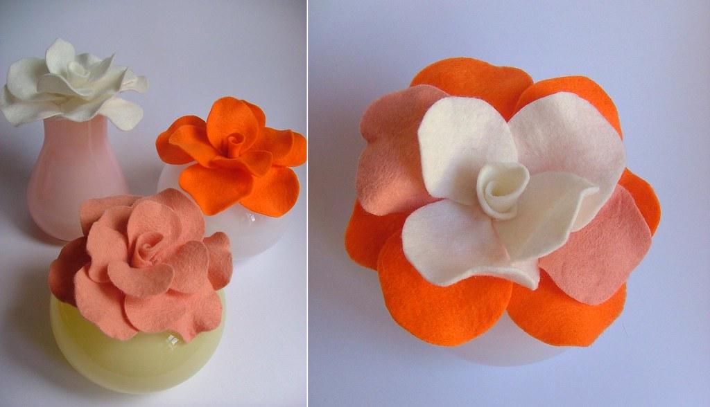 Orange flowers 001