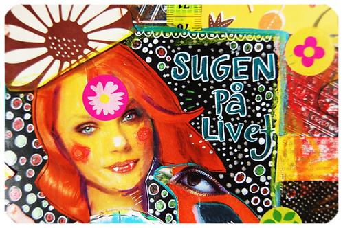 Redhead Daisy Girl (Copyright Hanna Andersson)