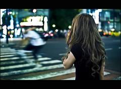 There are ghosts all around (Fabio Sabatini) Tags: girl japan japanese tokyo blog shinjuku dof bokeh f14 sigma outoffocus depthoffield 日本 東京 boke 30mm 新宿区 新宿駅 shinjukuku 本州 暈け