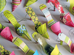Paper Craft - Shoe Tags for Purses (Carlos N. Molina - Paper Art) Tags: etsy papercraft papershoes paperpurses