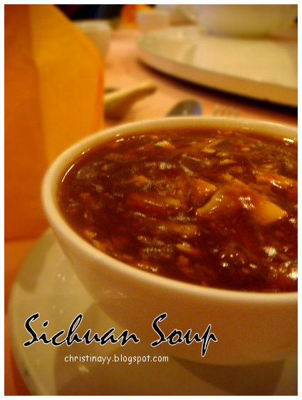 Seafood and Baby Abalone Dinner: Sichuan Soup