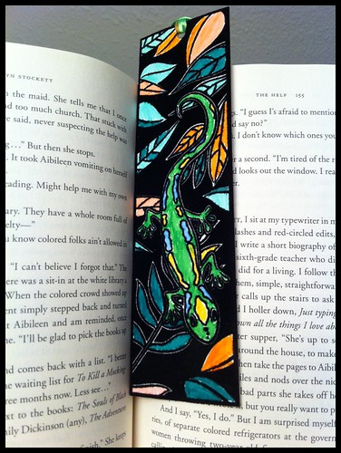 Bookmark lizard