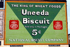 Vintage Uneeda Biscuit ad - Roanoke, VA (SeeMidTN.com (aka Brent)) Tags: virginia downtown ad advertisement roanoke va uneedabiscuit wallad bmok