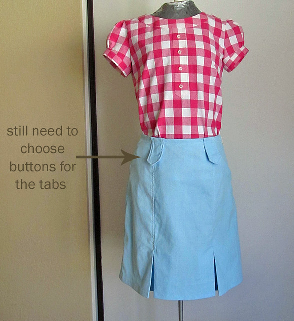 Lisette Market Skirt, Front