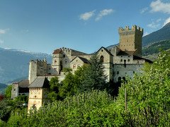 Castel Coira (anto_gal) Tags: italy day clear val tp castello bolzano altoadige medioevo venosta 2011 coira churburg sluderno superstarthebest