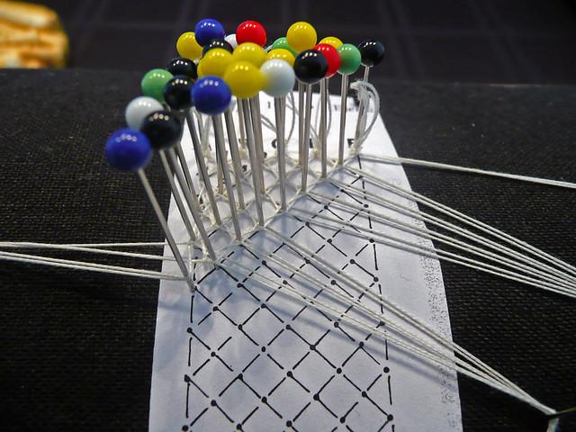 Half stitch net