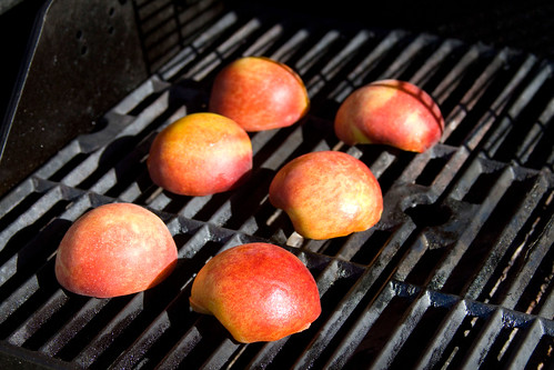 Grilled Peaches - 3