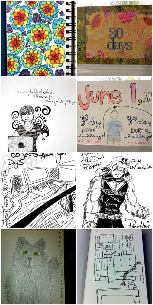 30 Days of Doodles-- YOUR Take!