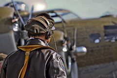 B-17 Pilot (Mitch Ridder Photography) Tags: fighter b17 mustang bomber flyingfortress pilot b24 p51 p51mustang fighterplane wwiibomber wwiiplanes nineonine vintageplanes b17flyingfortress b24liberator b17pilot