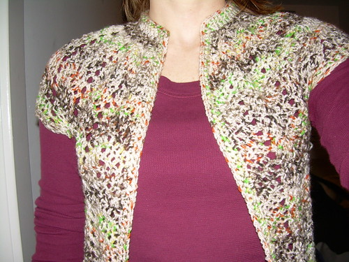 sweater finished?