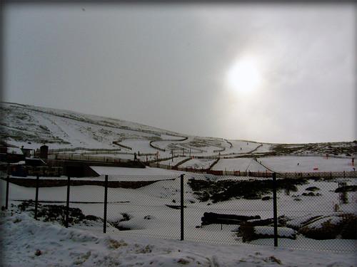 Nieve de la anochecida