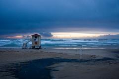 (Shemer) Tags: blue winter sunset sea beach clouds telaviv shore shemer שמר shimritabraham שימריתאברהם