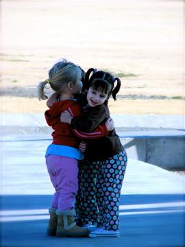 baby hugs x 3