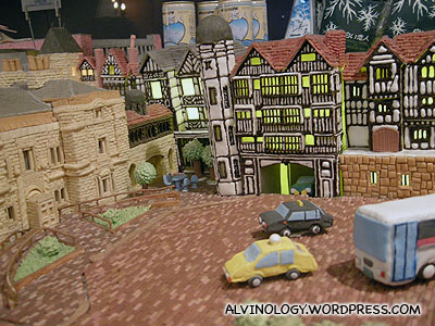 A town made of confectionary