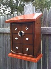 "Cira-1917 ""The Spice Box"" Birdhouse. (JimmySpyder) Tags: antique unique jimmys birdhouses kustom otw dragonflyawardsgroup mycamaraneverlies koopscom"