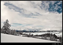 Natural Life (LilFr38) Tags: winter sky cloud mountain snow ski france tree montagne hiver ciel neige nuage arbre canonef1740mmf4lusm ancelle breakingbenjamin hautesalpes champsaur naturallife abigfave canoneos400drebelxti colorphotoaward lilfr38 theperfectphotographer goldstaraward boisnoir qualitypixels