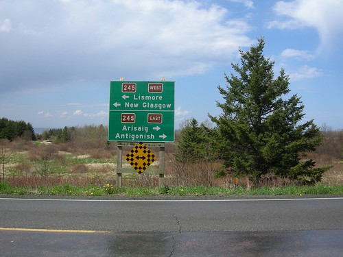 Signs in Nova Scotia