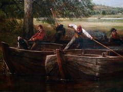 Constable, Stour Bargemen