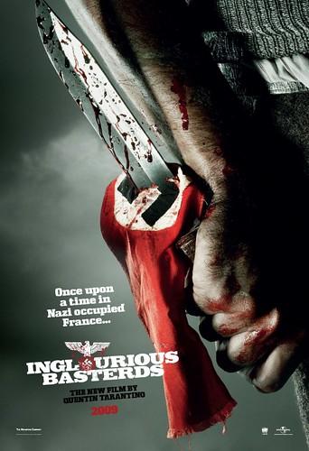 Teaser trailer y primeros pósters de 'Inglourious Basterds'