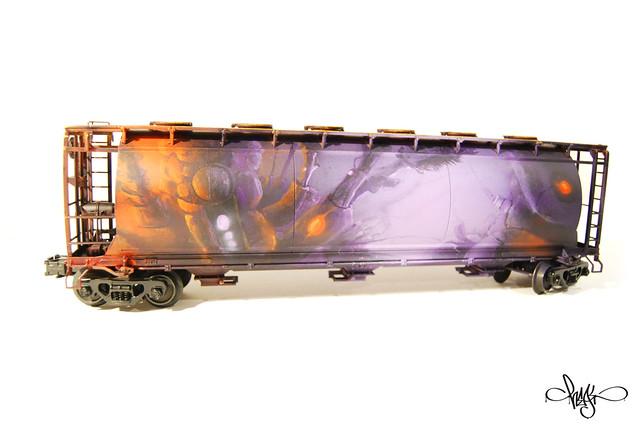 Model Train Side A