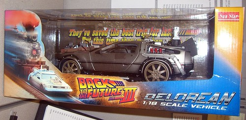 Back To The Future 3 DeLorean