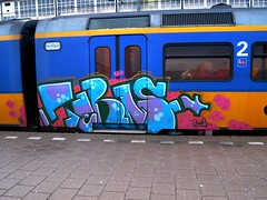 AMF 20090121 08.56 (oerendhard1) Tags: streetart train graffiti thenetherlands vandalism railways amersfoort traingraffiti paintedtrains railart