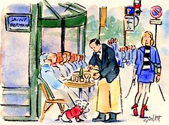 LES DEUX MAGOTS (Paris Breakfast) Tags: facade parisbreakfasts