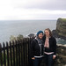 Posing by the Cliffs - Ireland Study Abroad