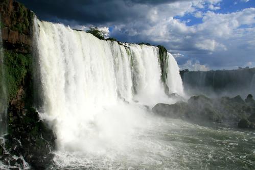 nature waterfalls Foz do Iguaçu Brazil Paraná Salto Santa Maria