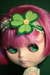 I just love holidays!!! (The Dolly Mama) Tags: holiday doll blythe stpatricksday bisous outfitbymyownlitt