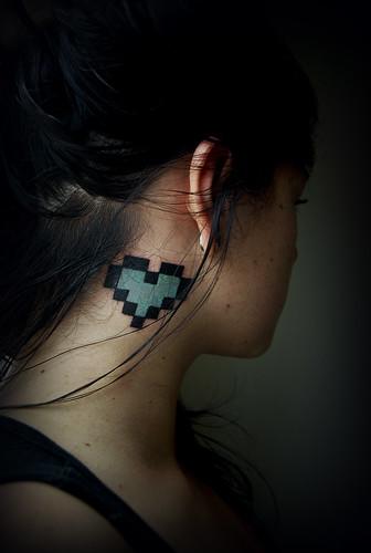 Pixel Heart / Polly Anne