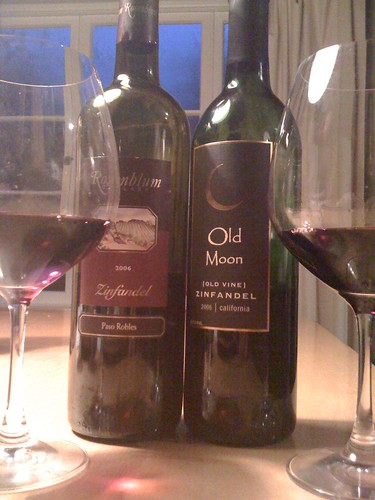 Grape Madness Round #1: Rosenblum vs. Old Moon