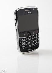 IMG_9196 copy (JNB Photo Video) Tags: white reflection studio blackberry background smartphone bold 9000