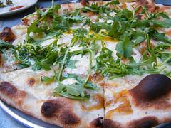 Gruyere Arugula Pizza, MyLastBite.com