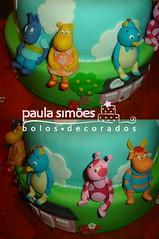 Backyardigans - detalhe (The Cake is on the Table) Tags: birthday aniversario cake backyardigans