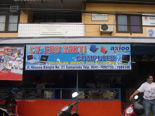 Reklame Neon Box CV. Edo Sakti - Samarinda
