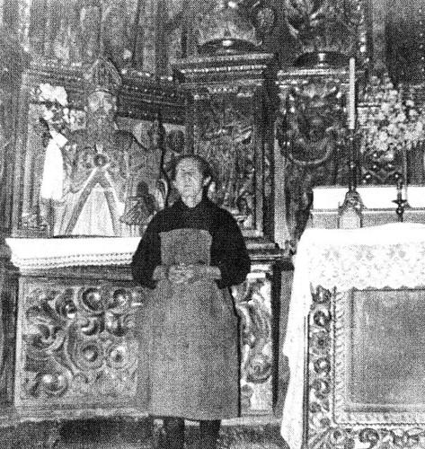 Abuela de Móntón con San Agustín