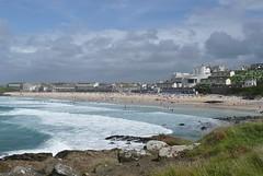Porthmeor Beach from Man's Head