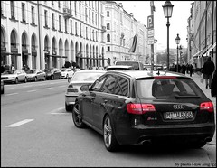 Audi RS6 Avant (T-low Photography) Tags: auto new 6 color colour slr car germany munich münchen key power image picture m german enzo coloring a4 audi rs combi supercar limousine avant spotting a6 rs4 f430 selective combo a8 murcielago s8 ingolstadt maximilianstrasse