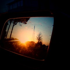 Sunset (alessandrogaravini) Tags: auto tramonto ale marzo iphone gara