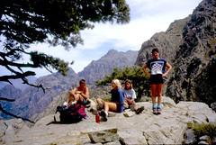 En famille à Bocca di Capronale (1370 m)
