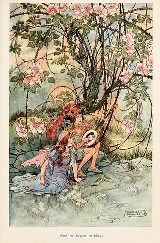 013- Charles Folkard- Jolly Calle & other Swedish fairy tales-1912-La princesa que escondio sus zapatos