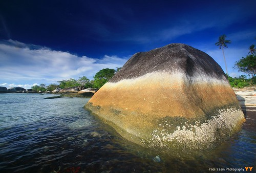 Three Layer Rock in Belitung