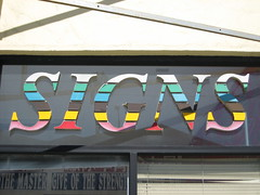 Signs (dschweisguth) Tags: sanfrancisco foundinsf themastergiveofthestrength gwsf5party gwsflexicon