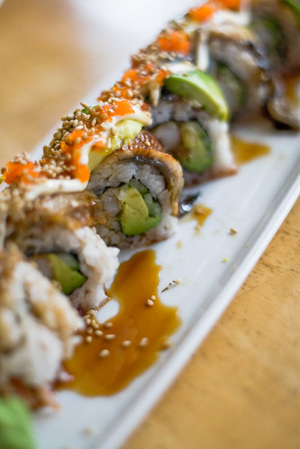 Shota Sushi & Grill (Kerrisdale): Dragon Roll