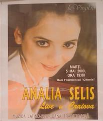 Analia Selis – Live in Craiova