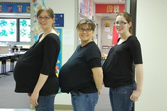 Where's the Prego? (JoelleW) Tags: pregnant triplets