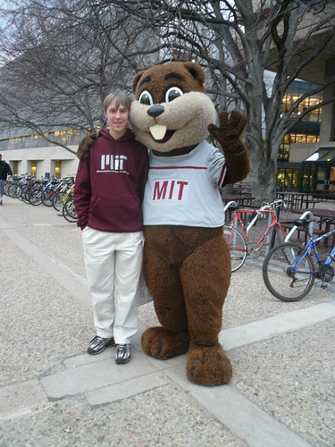 2009 MIT CPW Me and Tim the Beaver