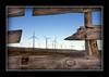 Windfarm Bokeh (M@ Kadlick) Tags: wood green windmill fence energy power wind bokeh farm clean wyoming windfarm earthday turbines snowfence explored hbw superaplus aplusphoto artofimages bestcaptureaoi